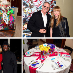 Will.I.Am. & Tory Burch Attend An Exclusive Dinner Celebrating The Kara Ross x Donald Drawbertson Collaboration