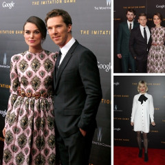 Benedict Cumberbatch Brings Beautiful New Fiancee Sophie Hunter To The Premiere Of His Film