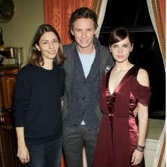 Sofia Coppola Joins Eddie Redmayne & Felicity Jones At An Exclusive Screening Of