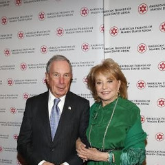 Barbara Walters Honored At American Friends of Magen David Adom Annual New York Benefit Dinner