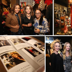 Guests Join Olivia Jeanette For A Holiday Soiree At Josie Natori In Nolita