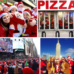 Instagram Roundup: NYC Santacon Collides With #MillionsMarchNYC