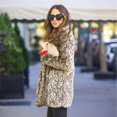 1 Jacket, 6 Ways: How To Style Your Fur Coat For Every Winter Festivity