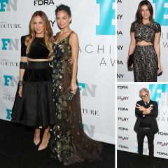Sarah Jessica Parker & Nicole Richie Are Honored At The 2014 Footwear News Achievement Awards