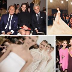 Katie Holmes & Emma Roberts Attend Valentino's Sala Bianca 945 Celebration