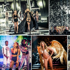 Taylor Swift, Karlie Kloss & Ariana Grande Take Over The 2014 Victoria's Secret Fashion Show