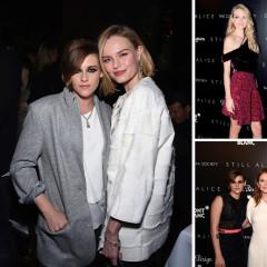 Kate Bosworth & Kristen Stewart Celebrate Their New Film 'Still Alice' In NYC