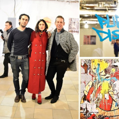 The Public Display Pop Up Gallery Hosts 'Public Display: Streetscapes By Rad Roubeni'