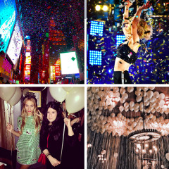 Instagram Round Up: NYC Celebrates NYE 2015
