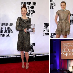 Chloe Grace Moretz & Ethan Hawke Help Honor Julianne Moore With The Museum Of The Moving Image