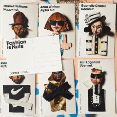 Donald Robertson Gave Anna Wintour & Karl Lagerfeld A 'Nutty' New Look