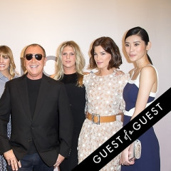 Best Dressed Guests: Kate Hudson & Lily Aldridge Join Michael Kors At His New Flagship