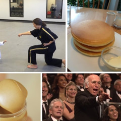 Down The 'Tube: Tiny Ninjas, Larry David & Things That Are Oddly Satisfying