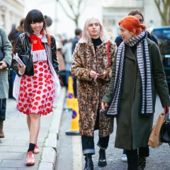 London Fashion Week Street Style: Part 1 With Susie Bubble & Natalie Joos