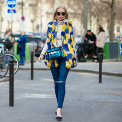 Paris Fashion Week Street Style: Part 3 With DVF & Hailee Steinfeld