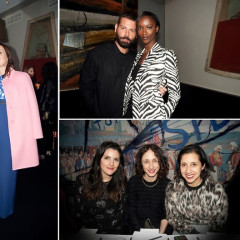 Fausto Puglisi Celebrates His Emanuel Ungaro FW15 Collection With An Intimate Dinner At Wallsé