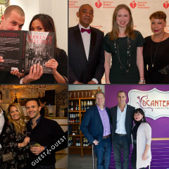Last Night's Parties: Nigel Barker At DCanter, Chelsea Clinton At Heart After Dark, & More!