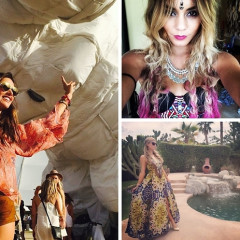 #FBF: The Best Celebrity Instagrams From Coachella 2014
