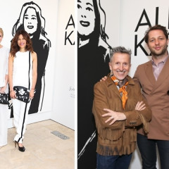 Barneys New York & Art Production Fund Honor Artist Alex Katz