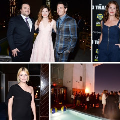 James Marsden & Brooke Shields Attend The Premiere Of 'The D Train'