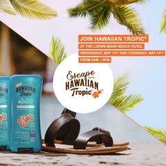 You're Invited: Join Hawaiian Tropic For A Spa Escape In Miami