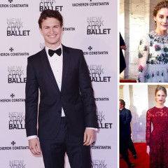 Ansel Elgort & Olivia Palermo Step Out For The New York City Ballet 2015 Spring Gala