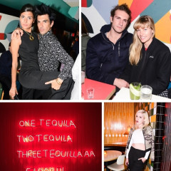 Jessica Hart & Giovanna Battaglia Celebrate The Art Party & Launch Of Tico's