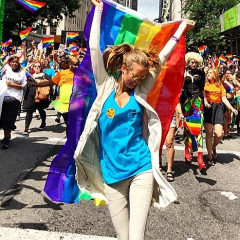 Instagram Round Up: The Best Celebrity Snaps From Pride 2015