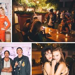Cody Simpson & Sophie Monk Celebrate Artist Louis Carreon's 'Faces' In L.A.