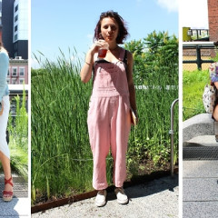 NYC Street Style: Heating Up On The High Line