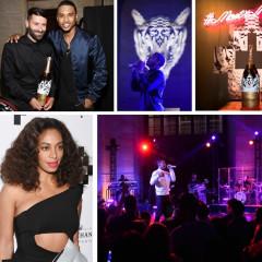 Solange & Trey Songz Attend The Moet Nectar Impérial Rosé x Marcelo Burlon Launch