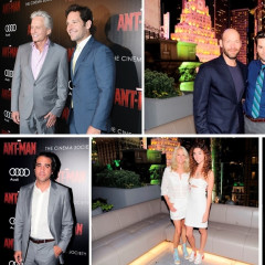 Paul Rudd & Michael Douglas Attend The NYC Premiere Of 'Ant-Man'