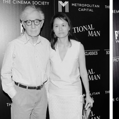 Woody Allen Attends A Screening Of His New Film 'Irrational Man'