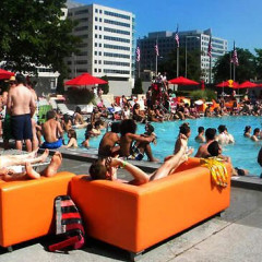 MAKING A SPLASH! INSIDE THE CAPITOL SKYLINE SUMMER POOL PARTIES!
