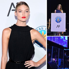 Michelle Rodriguez & Martha Hunt Attend The Unitas Gala Against Sex Trafficking