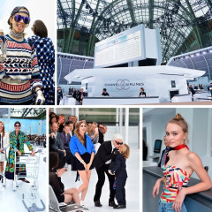 Lily-Rose Depp & Cara Delevingne Only Fly Chanel (Duh!)