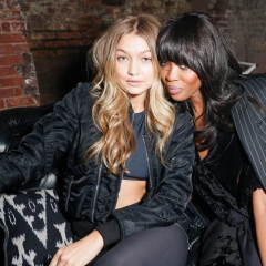 Gigi Hadid & Naomi Campbell Party In The Bronx At Lucien Smith's Macabre Suite