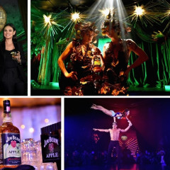 Mila Kunis Hosts Jim Beam's Apple Eve At Diamond Horseshoe
