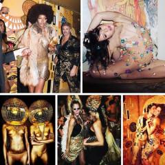 Inside Allison Sarofim & Stuart Parr's Klimt Kaleidoscope Halloween Party