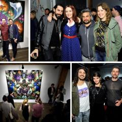 Inside The Joseph Gross Gallery 'Flores en Fuego' Opening Reception