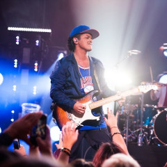 Bruno Mars & Zedd Perform At The Launch Of T-Mobile's Un-carrier X