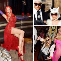 Instagram Round Up: The Best Celebrity Halloween Costumes Of 2015