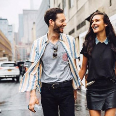 Talking Music, Fashion & Dating With It Couple & DJ Duo Isaac Likes Jenny