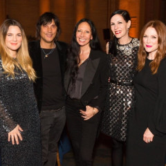 Drew Barrymore, Inez & Vinoodh Are Honored At ACRIA's 20th Anniversary Holiday Dinner