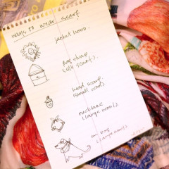 Creative Ways To Style Your Scarf With CJW's Christina J. Wang