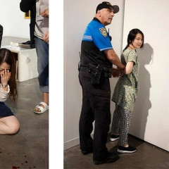 Woman Gets Stabbed At Art Basel, People Think It's Art