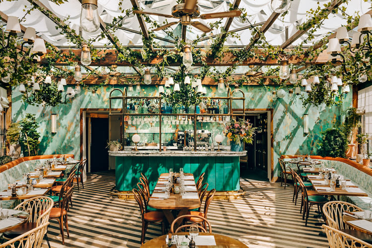 This Parisian Restaurant Is Too Pretty To Be Real