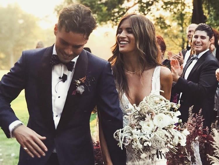 Model & Insta It Girl Rocky Barnes Had The Most Stylish Wedding