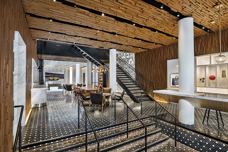 Lexus Just Opened A Luxe New Restaurant, Lounge & Gallery In NYC