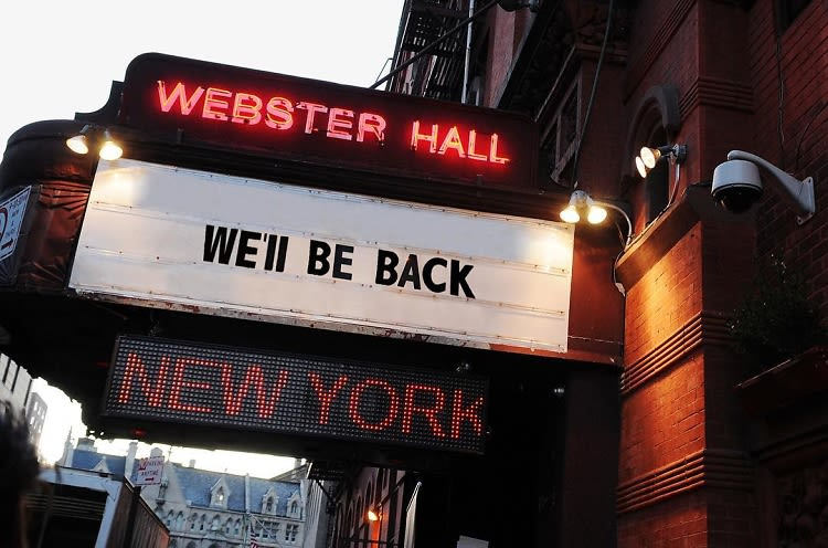 Webster Hall Is Officially Reopening This Spring!
